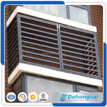 china factory made beautiful metal window louver shutter of different material and color