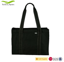 Wholesale Simple Polyester Grocery Shopping Bags Compact Reusable Tote Shopping Bag Manufacturer