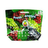 Free sample environmental food grade customized printing fruit and vegetables packaging materials