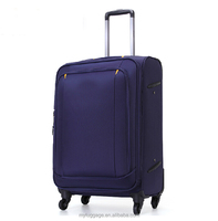 2016 Hot Selling pu trolley luggage travel luggage bags & cases