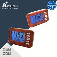 Ce Certified Best Selling Lcd Talking Clock