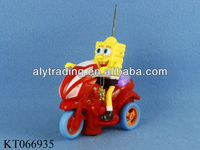Oyuncak B/o Bump&Go Spongebob Motorcycle toy With 2 Arabic Magic Lamps fanous Lanterns