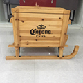 51L Wooden Cooler Box
