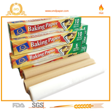 Non stick silicone coated baking parchment paper