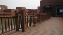 High Quality Anti-UV balcony railings wpc, wpc door, wpc board