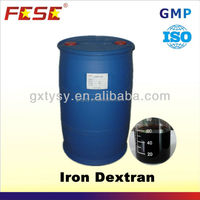 Iron Dextran efficiency chemical name for fe