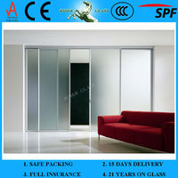 3.2-22mm Shower Sliding Glass Door with CCC and EN