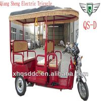 New Product 48v/850w China Electric Rickshaw For India
