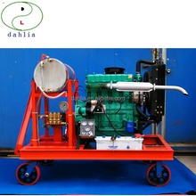 Hydro blasting cleaner washer machine with high pressure water jet gun for Boating ship Rust for sale