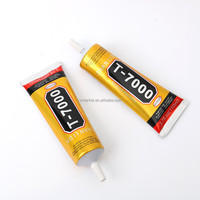 Hot strong T-7000 Glue Black Super Adhesive Cell Phone Touch Screen Repair tool