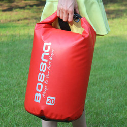 2015 new design PVC Waterproof Dry Bag With Shoulder Strap, Lightweight Dry Sack