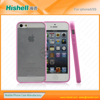 latest hot sale tpu+pc mobile phone case for iphone 5