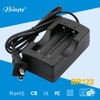 High Quality Dual Channel US Plug Portable 18650 Li-ion Battery Charger
