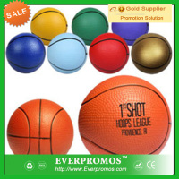 Basketball Stress Reliever with Logo for promotion and anti stress