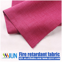 China manufacturer washable blackout fire retardant curtain fabric