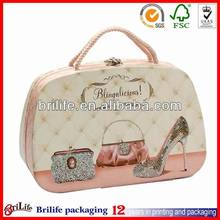 Custom fashion cheap Shoes boxes with handle