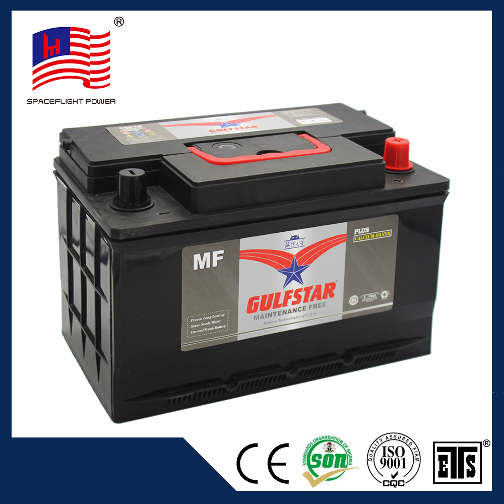 56618 durable 12v 55ah maintenance free first power battery