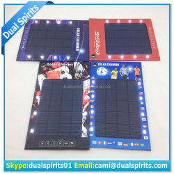 Portable Battery Solar Charger USB Power Bank Battery solar charger for cell phone manufacturers