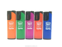 Cheap Customer Sexy Sticker Windproof gas lighter