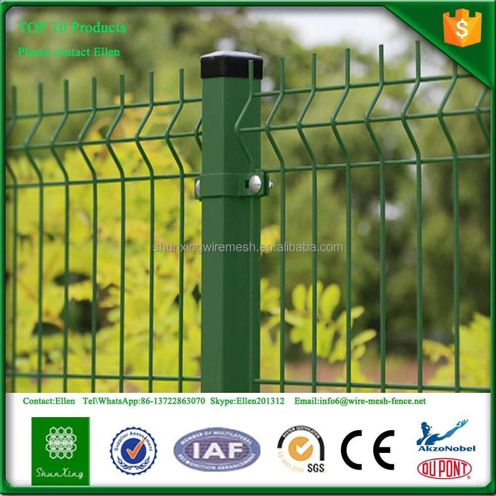 Factory Iron Metal welded wire fence panels from Alibaba China