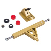 Maxfind Electric skateboard longboard Parts aluminum truck 1 pair gold color