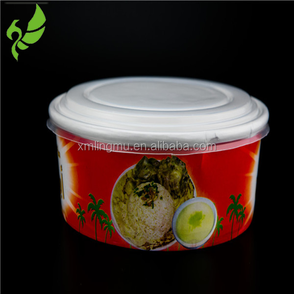 Hot Plastic Food Container lid, hot plastic cup cover with spout
