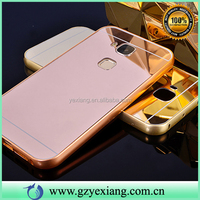Fashion Accessories Bumper With Mirror Back Cover Phone Case For Huawei Ascend G8 D199