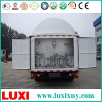 Cheap And High Quality storage tank semi-trailer lng gas cylinder for car