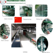 Automatic gypsum board production machines line for small plant used