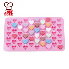 Fondant silicone 3D toblerone chocolate candy praline mould
