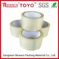 Made in China factory supplier of packing bopp self adhesive tape