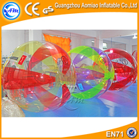 Best selling inflatable water running zorb ball water ball valve