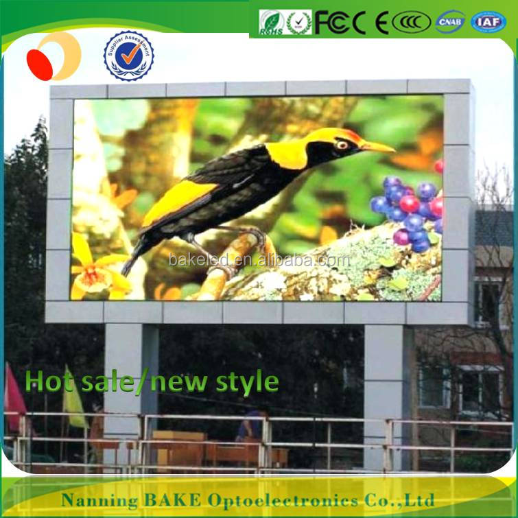 outdoor waterproof full color p6 flexible led video billboards p6 outdoor programmable led sign