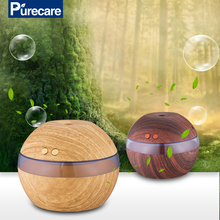 Light and dark wood grain mini USB aroma diffuser