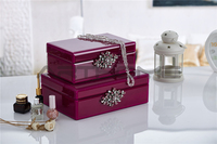 Professional Design Ornamental Big Lots Jewelry Box