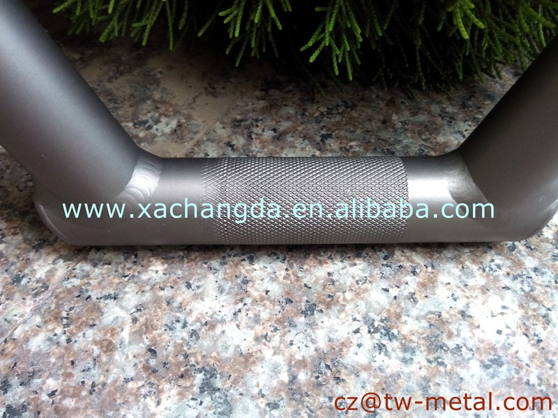 Titanium BMX bike handlerbar Customized handle bar sand blast finished