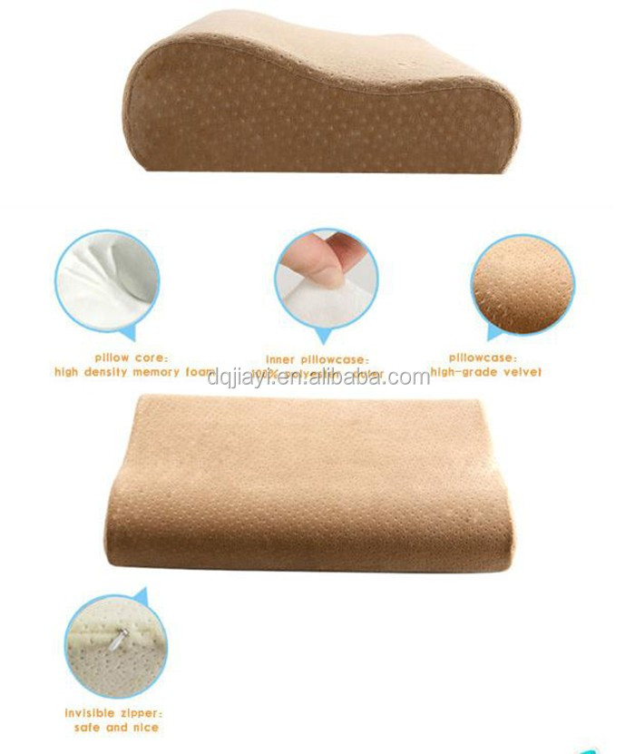 New Arrival Cheap Memory Foam Pillow memory foam chips pillow