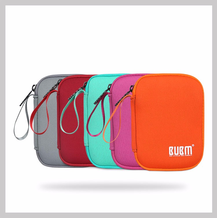 BUBM Portable Hard Disk Drive Case Soft Bag For HDD