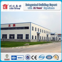 BV CE SGS ISO9001-2008 certificated Professional architectural design light steel structure buildings