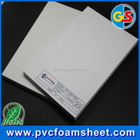 White and Black Hard PVC Rigid Foam Sheet for Cabinet , Advertising