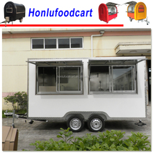 Elegant Edition Environmental mobile mobile food truck for sale