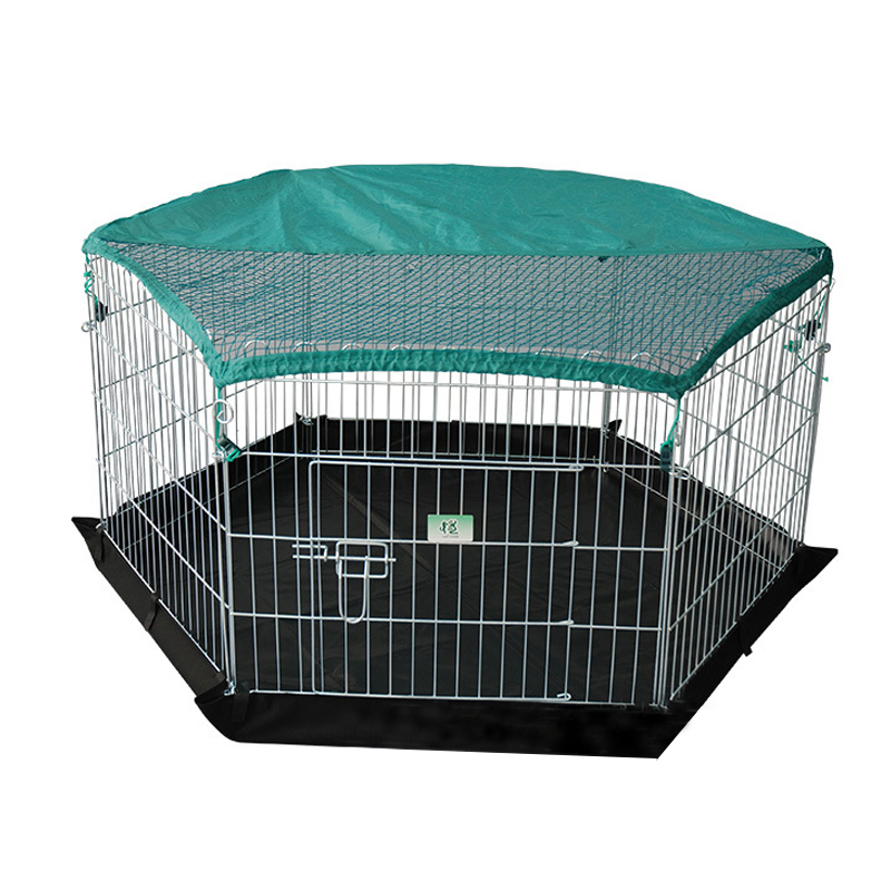 Large Iron Metal Welded Wire Portable dog run