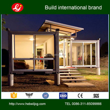 High Quality Fully Furnished Luxury Kits Prefab Shipping Container Home For Living