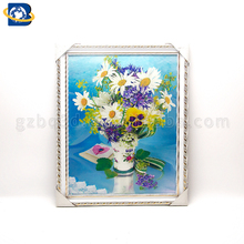 3d Wall hanging picture of beautiful 3d flowers picture
