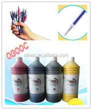 2017 cheap promotional dye gel pen ink for students use