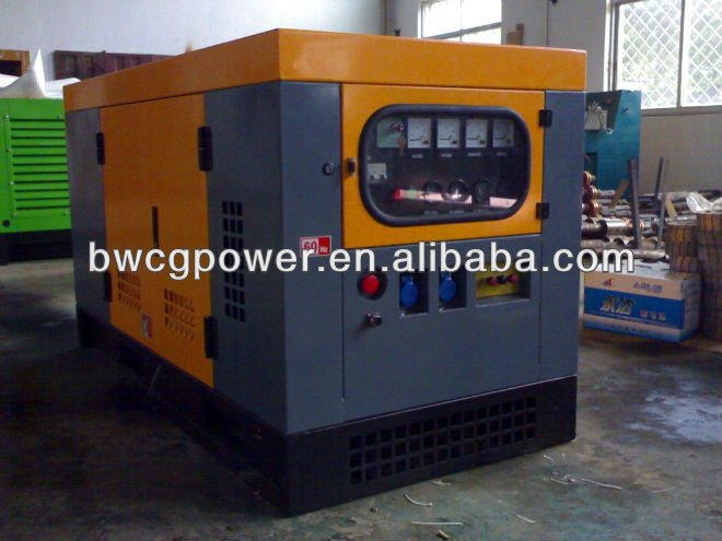 12kW Soundproof Working Model Electric Diesel Generator