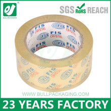 Wholesale high quality BOPP material and carton sealing use adhesive clear packing tape
