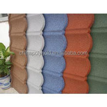 China made high quality colorful stone-coated metal roof