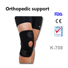 High quality Hot Sell With Bilateral Spring Neoprene Knee Support