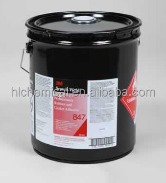 Nitrile Rubber and Gasket Adhesive 5gallons 3M Scotchweld 847